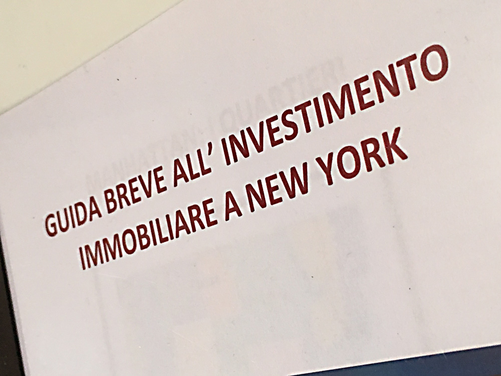 Business relax: investire a New York