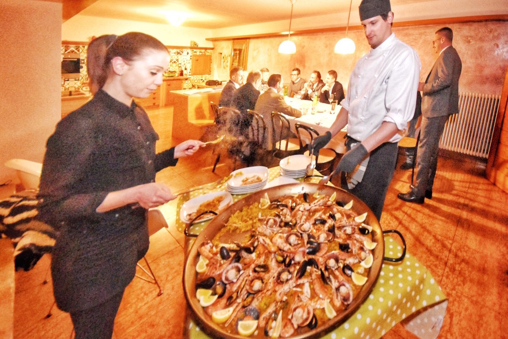 BUSINESS E PAELLA