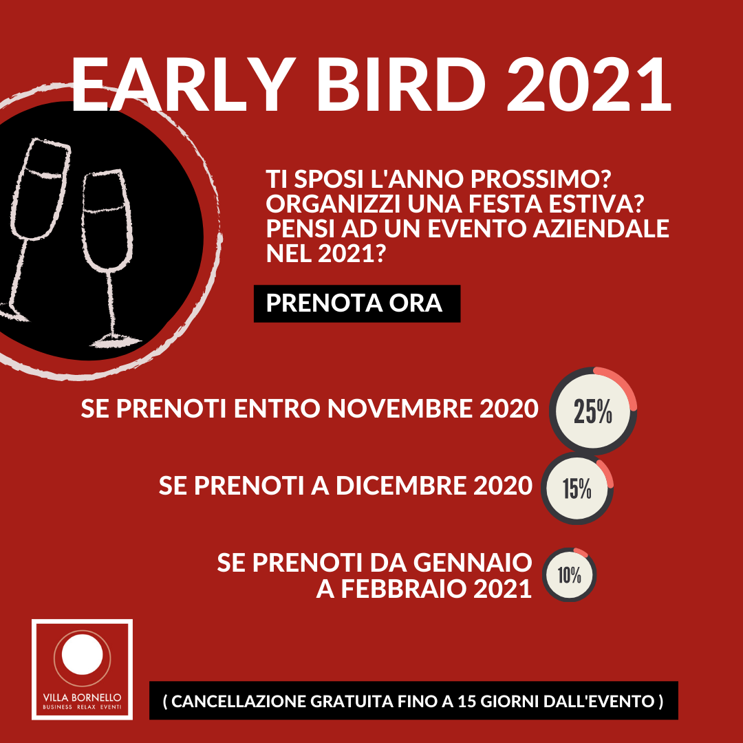EARLY BIRD 2021